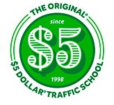 5 Dollar Traffic School logo