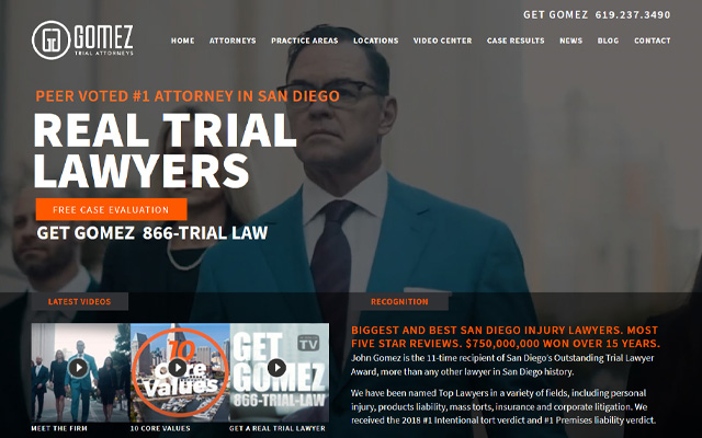 Gomez Trial Attorneys San Diego