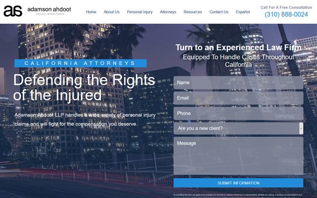 Adamson Ahdoot California Attorneys
