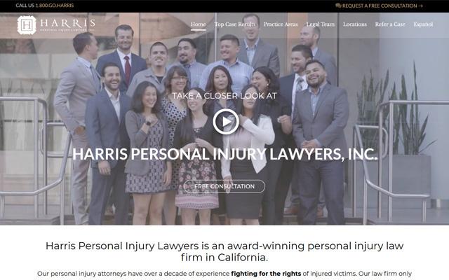 Harris legal team