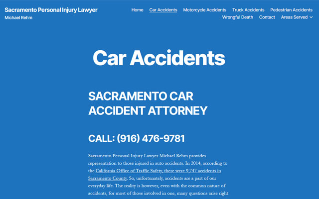 Sacramento Personal Injury Lawyer